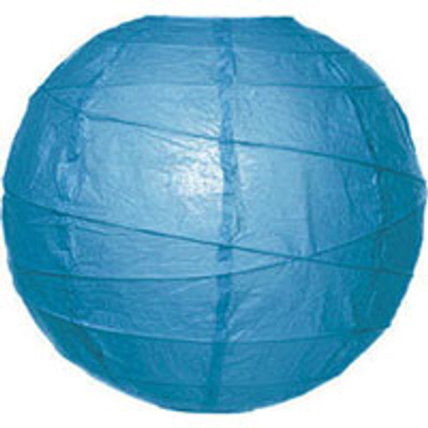 Turquoise Blue Paper Lantern 18 in.