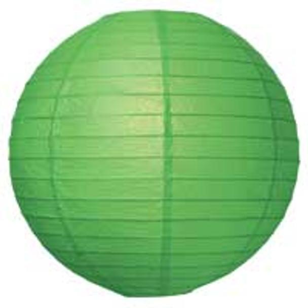 Grass Green Paper Lantern 8 in.