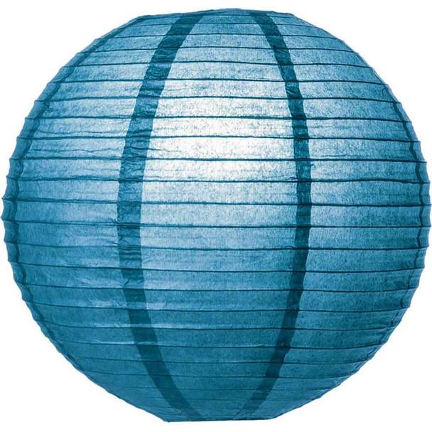 Lapis Blue Paper Lantern 8 in.