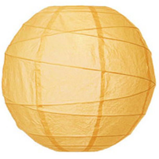 Cantaloupe Orange Paper Lantern 10 in.