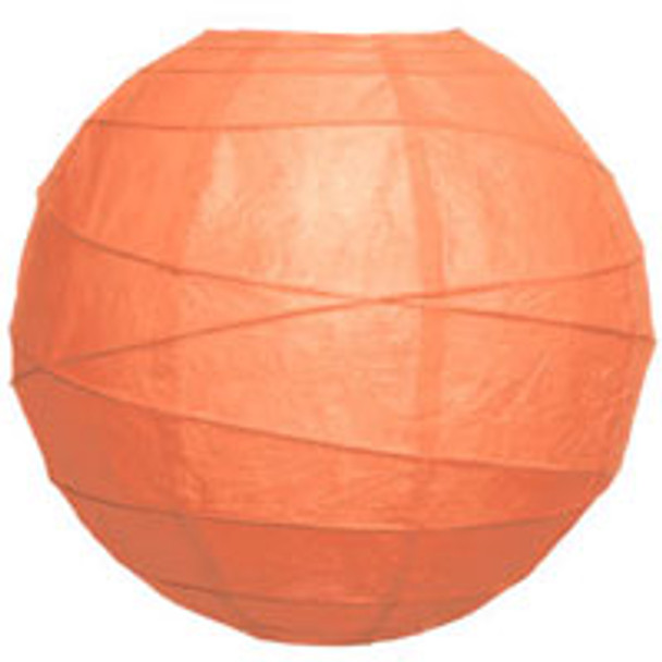 Coral Pink Paper Lantern 10 in.