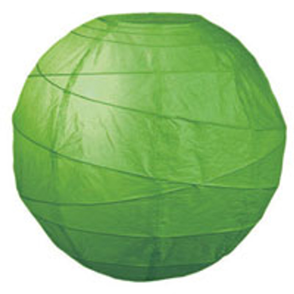 Grass Green Paper Lantern 10 in.