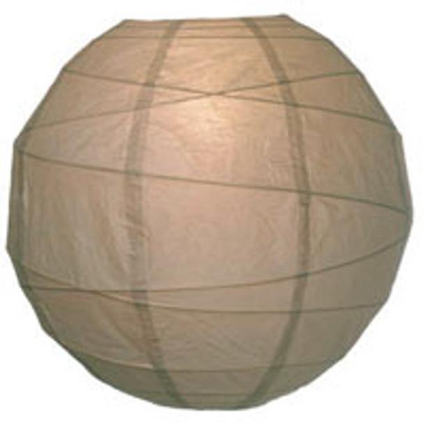 Latte Brown Paper Lantern 10 in.