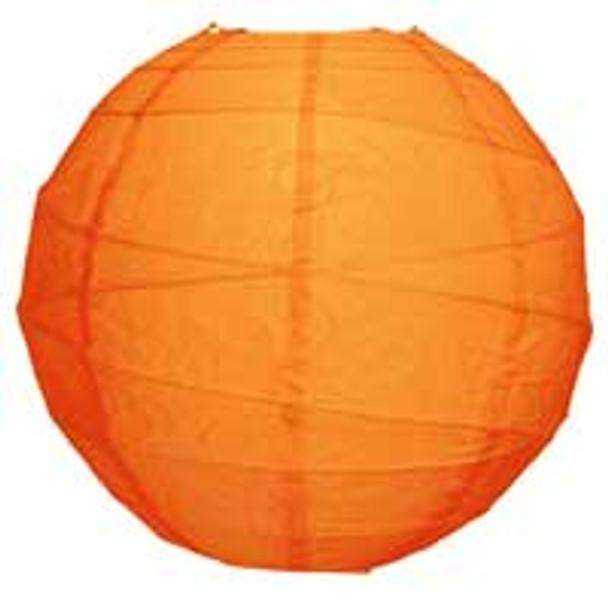 Mango Orange Paper Lantern 10 in.