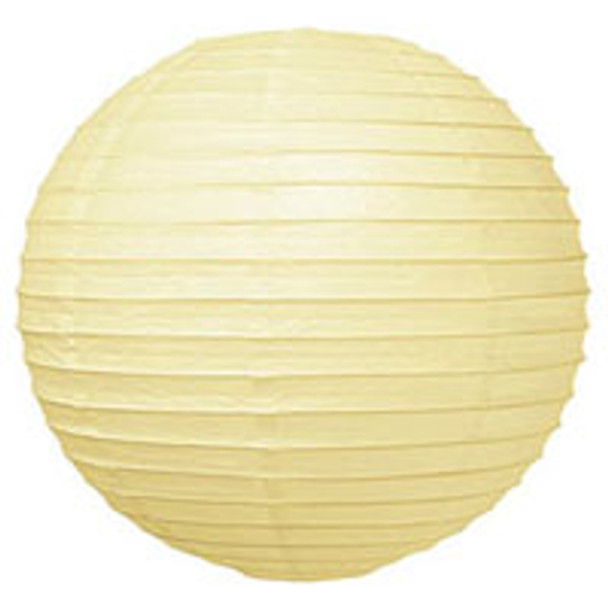 Lemonade Yellow Paper Lantern 16 in.