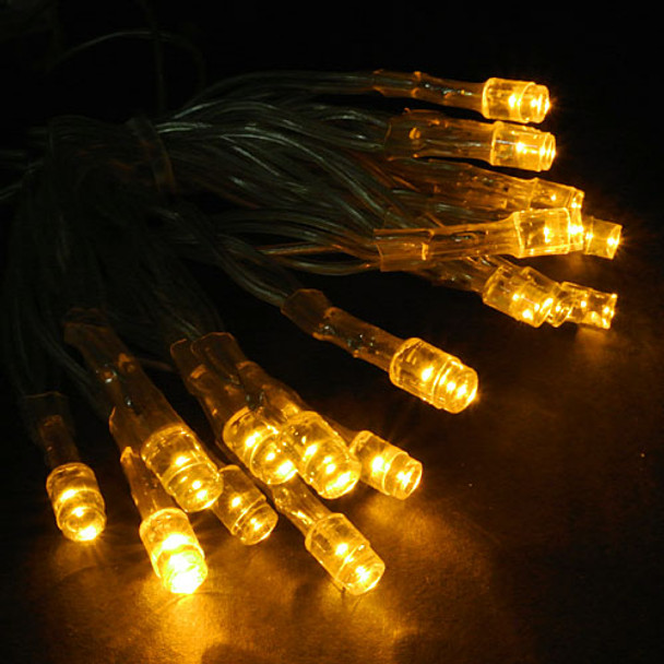 Battery Operated Mini Lights, Yellow