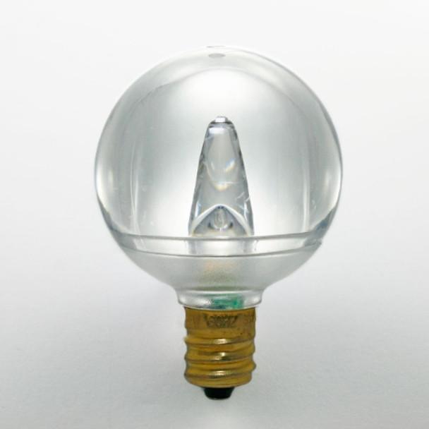 Smooth LED G40 Bulb, Warm White, C7 base (unlit)