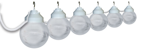 White Awning Lights - 6 lights