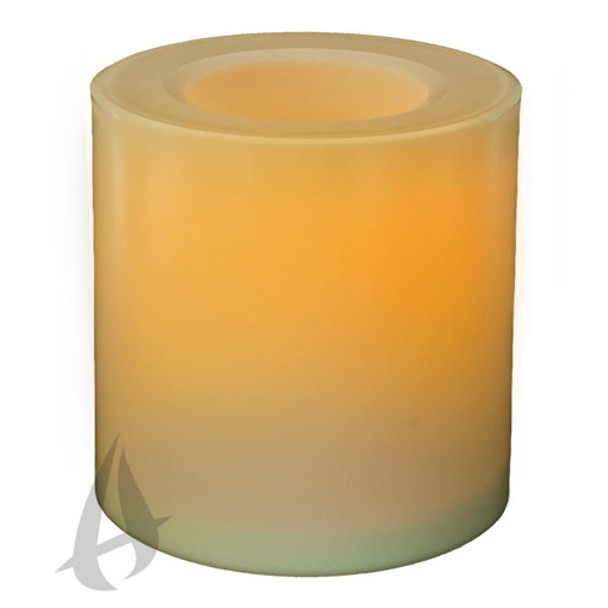 """Outdoor Battery Operated Candle - 6"""""""