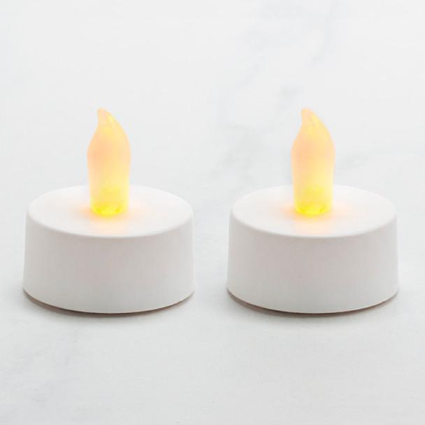 Battery Operated Tea Light - White