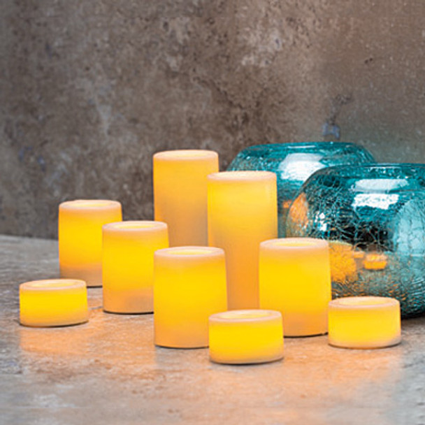 Battery Operated Votive Candle Group