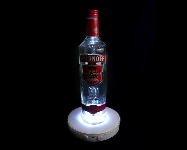 "6"" Light Base, Multi Color with bottle"