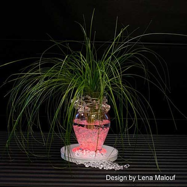 """10"""" Light Base, Multi Color (vase)"""