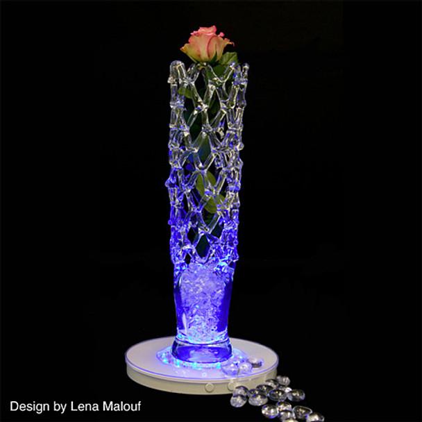 """10"""" Light Base, Multi Color (centerpiece)"""