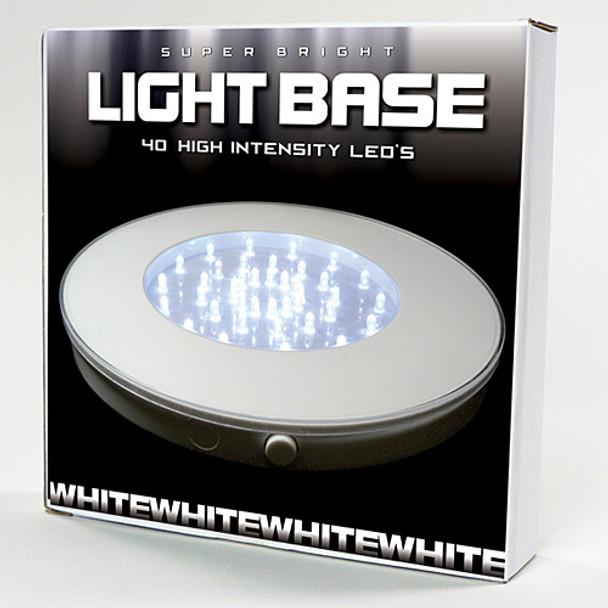 """10"""" Light Base, White (package)"""