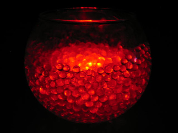 LED Submersible Floralyte, red (vase example)