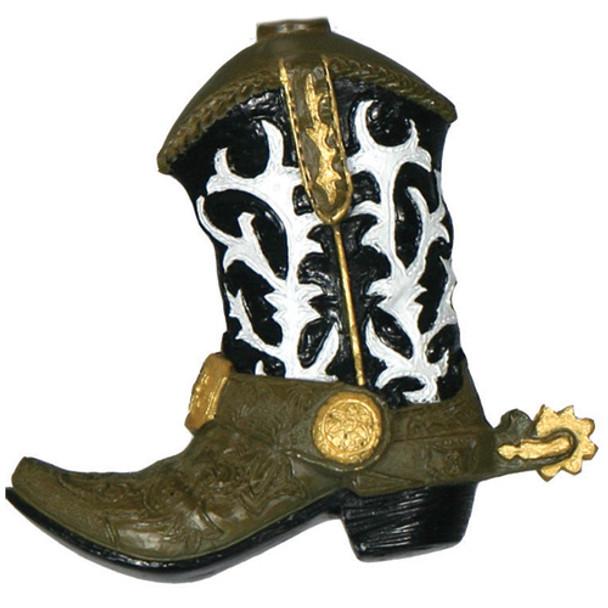Western Cowboy Boot Lights closeup
