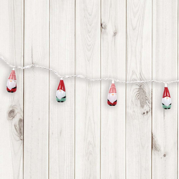 Christmas Gnome String Lights strand