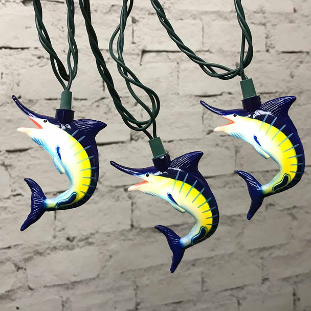 Marlin Fish String Lights