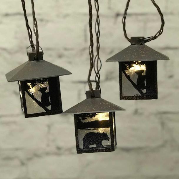 Bear Mini Lantern String Lights