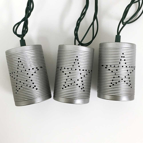 Tin Can String Lights (unlit)