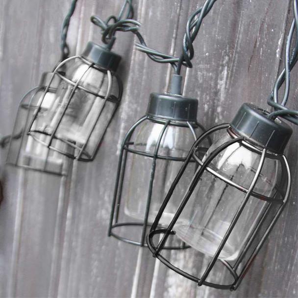 Vintage Cage String Lights