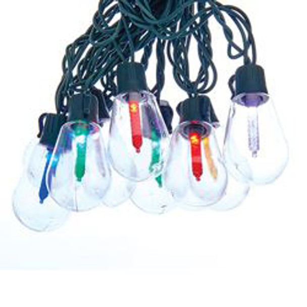 Old Fashioned Multi Color String Lights