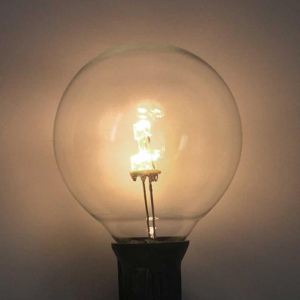 Premium LED G50 Bulb, Warm White, C7 E12 base