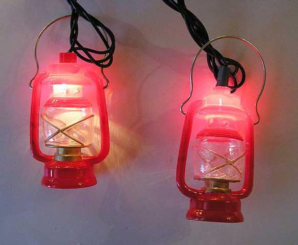 Red Lantern Lights (lit)