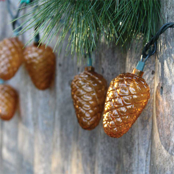 Pine Cone String Lights