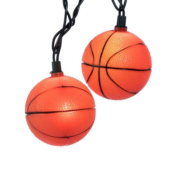 Basketball String Lights
