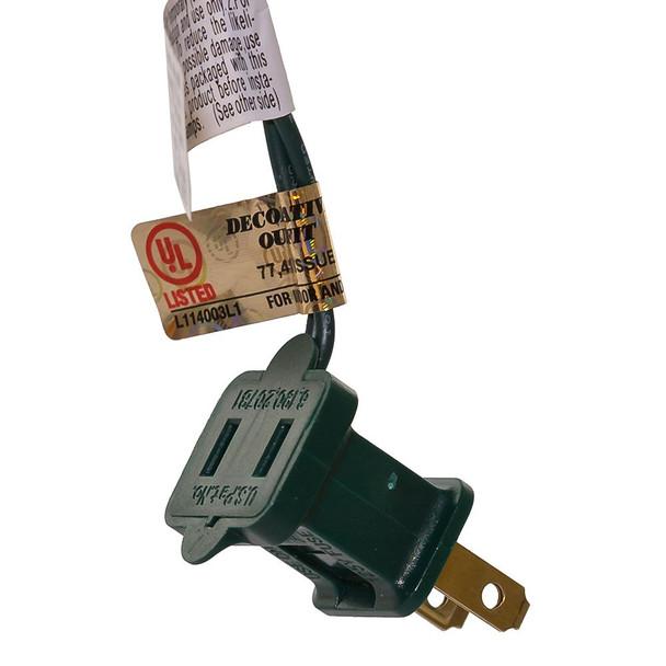 String Light single-end connection plug