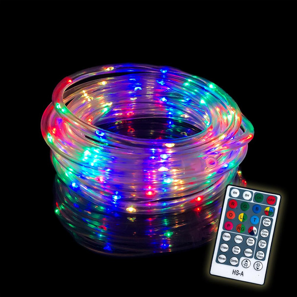 LED Rope Lights, Color-Changing, Battery Operated, Remote Controlled