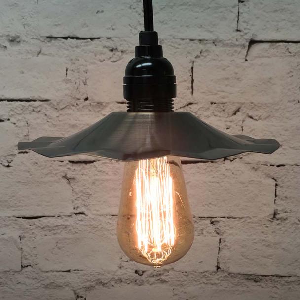Pendant Light Set with Copper Shade & 2125 Vintage Edison Bulb