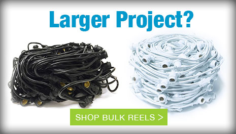 Large String Lights Projects