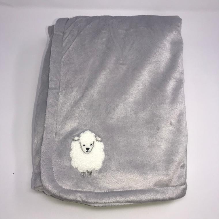 Grey Plush Sheep