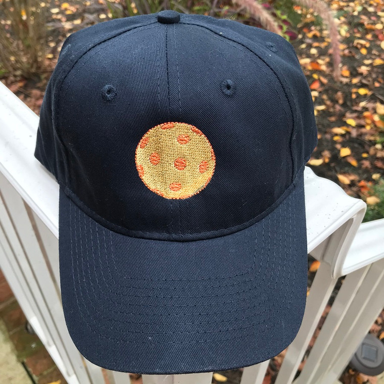 Navy 100% cotton adjustable back hat