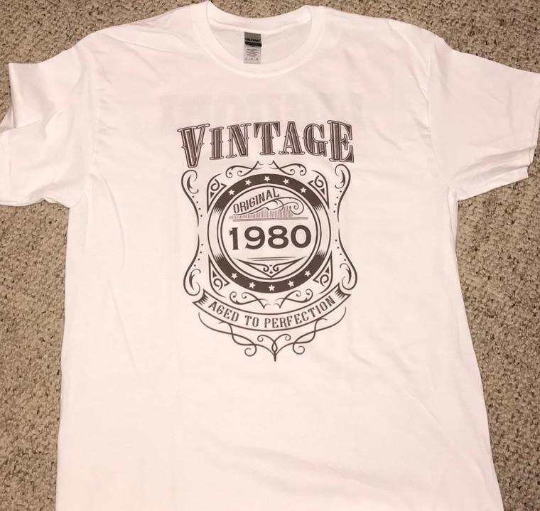 Vintage Birthday Shirts