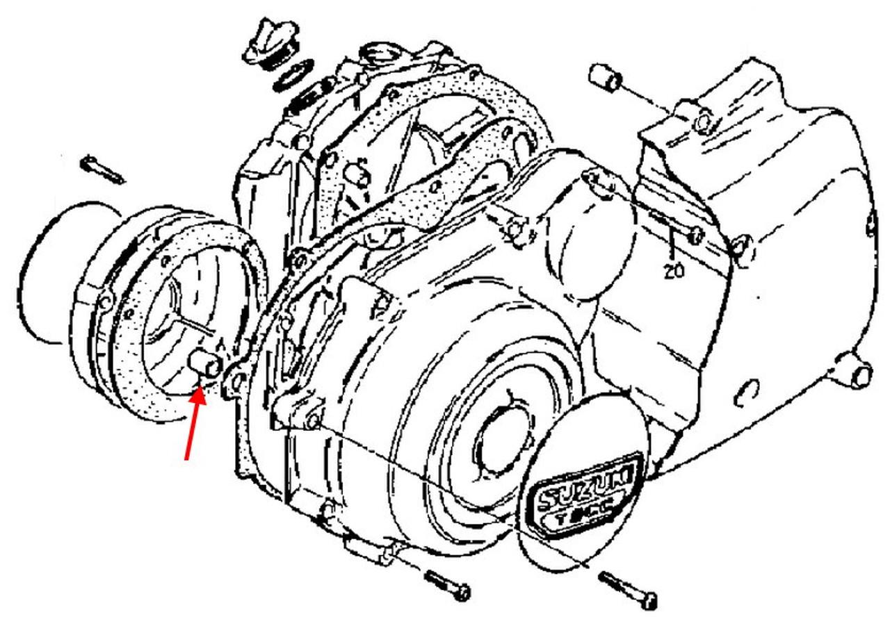 Suzuki Oem Cylinder To Case Dowel Gs1100gs1150 0421113189: Roaring Toyz Wiring Diagram At Teydeco.co