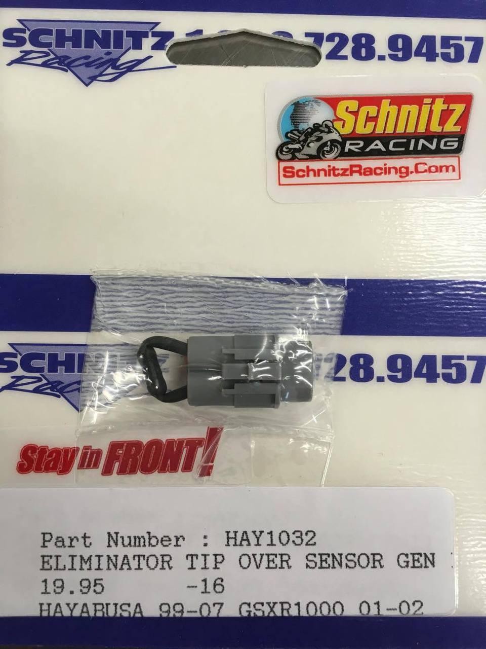 Schnitz Tip Over Sensor Eliminator Suzuki GSX1300R Hayabusa (99-19)  GSXR1000 (01-08)