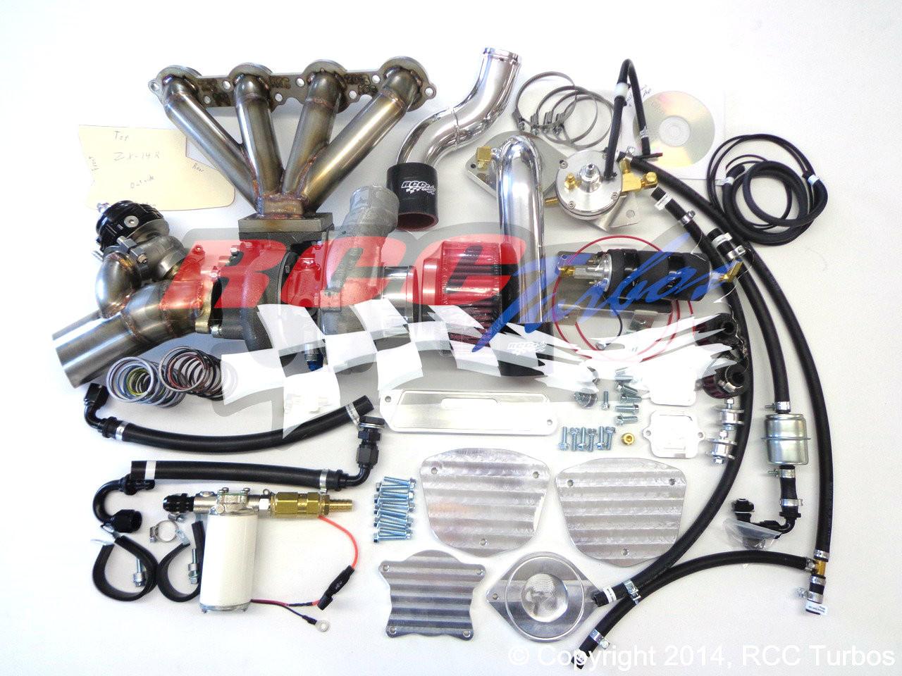 RCC Turbo Kit Stage 1 Kawasaki ZX14 (06-11)