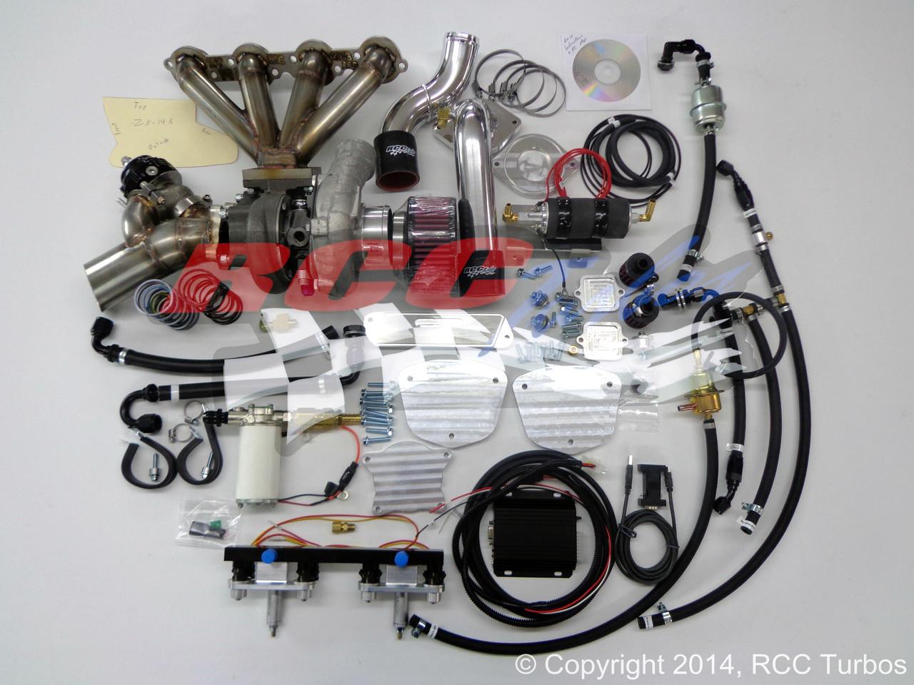 RCC Turbo Kit Stage 2 Kawasaki ZX14 (06-11)