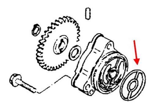 Suzuki Oem Oil Pump Gs1100 Gs1150