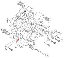 Suzuki OEM Head to Cylinder Dowel GS1100-GS1150
