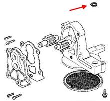 Kawasaki OEM Oil Pump O-Ring KZ900-KZ1000-KZ1000J