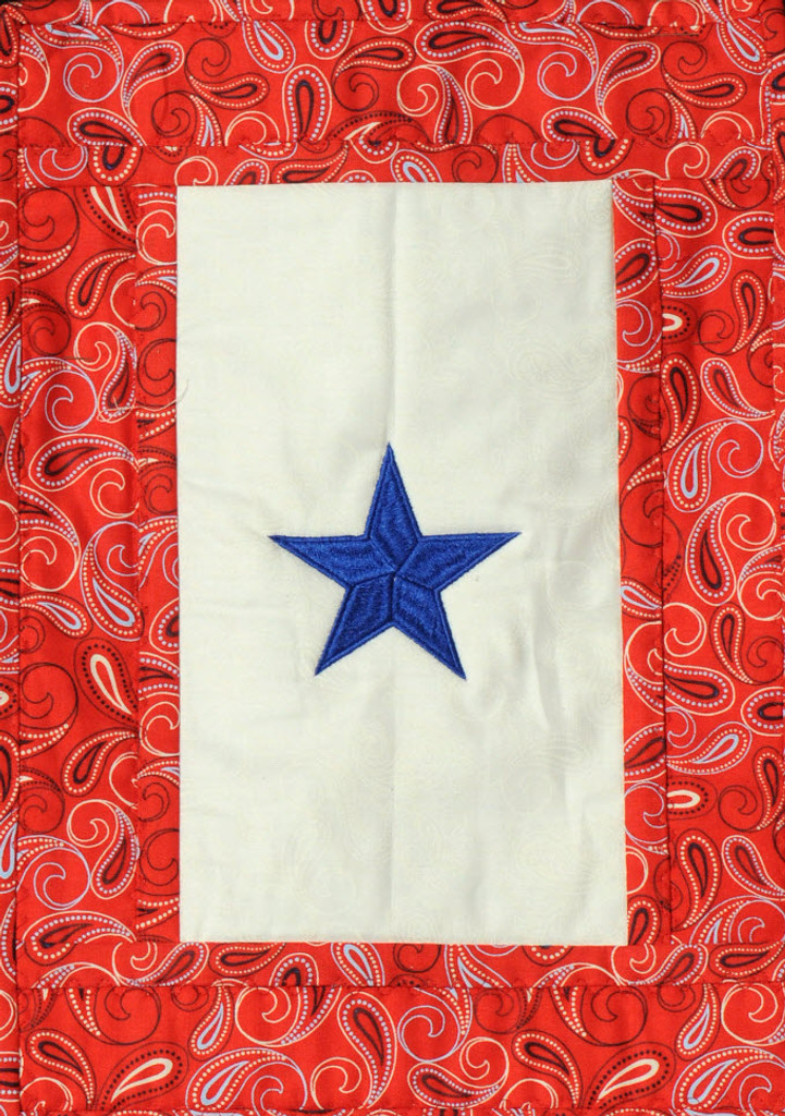 """The Old Glory """"Blue Star Service Banner"""" is part of the Old Glory CD!"""