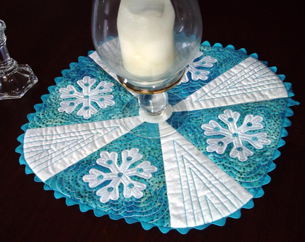 Let It Snow Table Mat