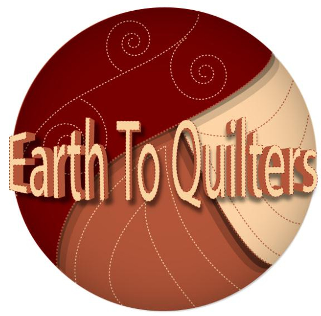 Whole Earth Quilt with Optional Sawtooth Border, GPS Quilt and Messenger Bag - CD Media