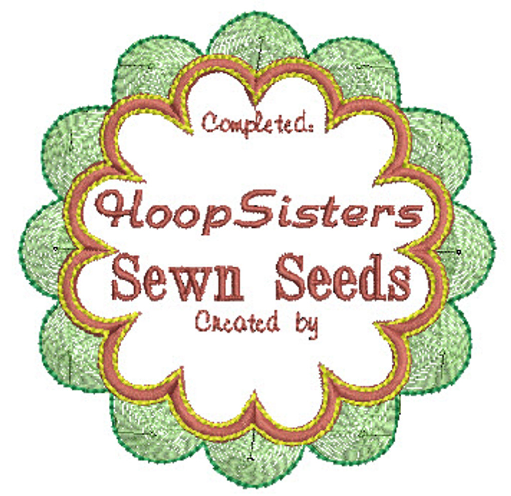 Sewn Seeds Quilt Label