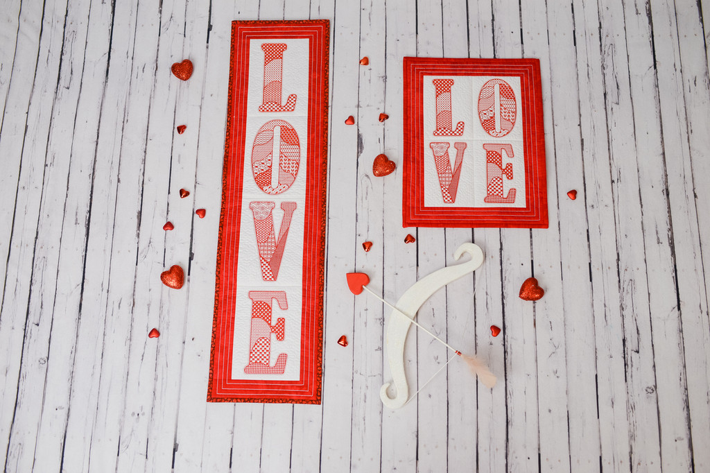 January LOVE Wallhanging - Digital Download